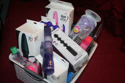 vibrators on sex toys box