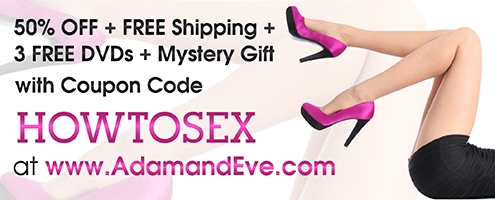 Use HOWTOSEX coupon code to get 50 OFF plus more