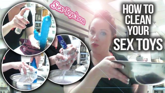 How should i clean sex toys