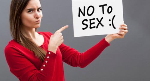 no to sex, saying no to sex, say no to sex