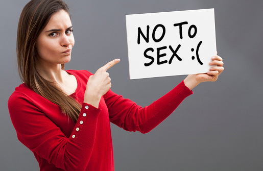 no to sex, saying no to sex, say no to sex