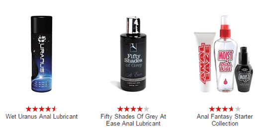 Anal Sex lubes
