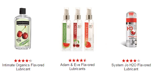 Flavored Sex lubes