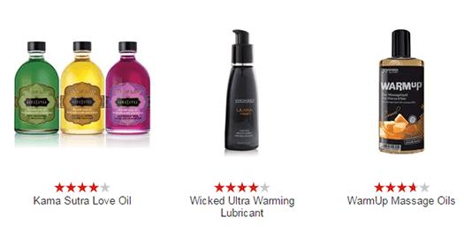 Oil-based Sex lubes