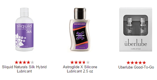 Silicone-based Sex lubes