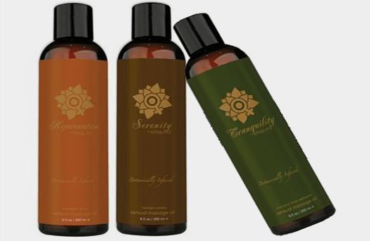 More sex with Sliquid Organics Massage oil