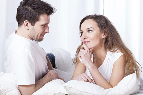 Couple discuss, communicate, and plan on how to do anal sex
