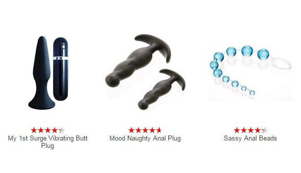 Choose anal beads and anal plugs