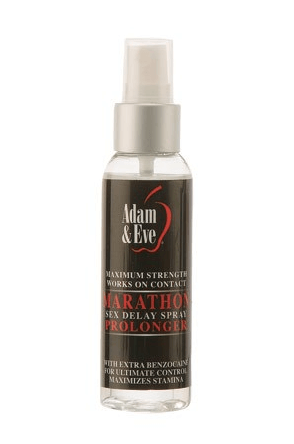 Erection strength with Adam & Eve Extra Strength Marathon Delay Spray