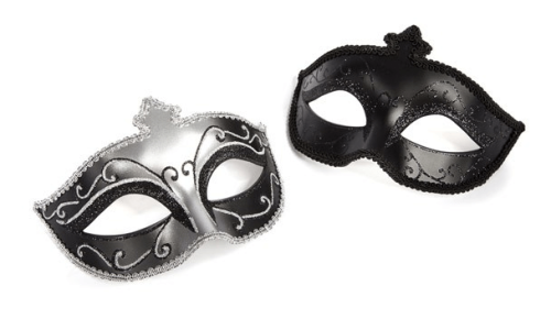Role play sex - 50 shades masquerade masks twin pack