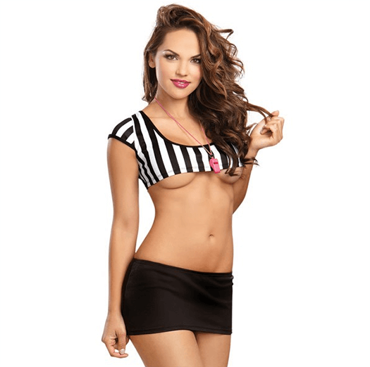 Role play sex - foul play referee