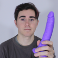 How To Use A Dildo: In Using The Neon Slim 7 Realistic Dildo